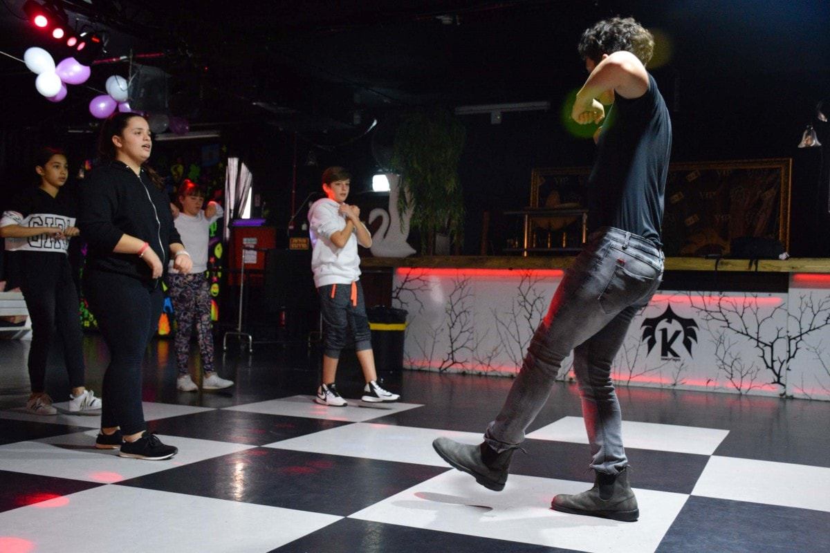 אימון ריקוד בקאסה